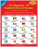 Magnetic Flags & Capital Cities of Europe