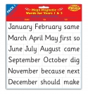 MEGA National Literacy Magnetic Words for Years 1&2 PACK 1 Key Stage 1