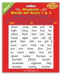 National Literacy Magnetic Words for Years 1&2 PACK 2 Key Stage
