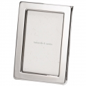 Narrow Classic Silver Plated Frame-6x4