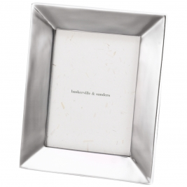 Chamfered Profile Polished Aluminium Frame-8x6""