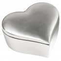 Fat Heart Large Aluminium Box-6x6x2.5