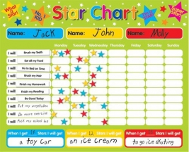 Magnetic Reward / Star Chart - Rectangular