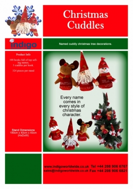 Personalised Christmas Plush Toys
