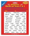 National Literacy Magnetic Words for Years 1&2 PACK 1 Key Stage